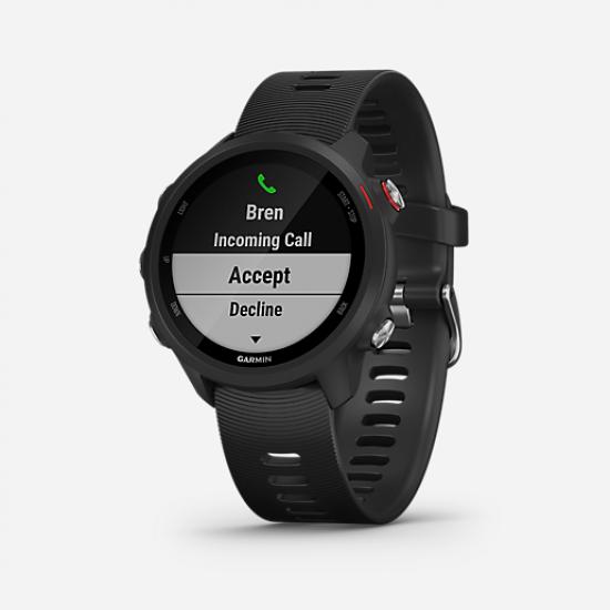 Soldes Montre GPS Forerunner 245 Music NOIR-GARMIN avec une remise 55-70%